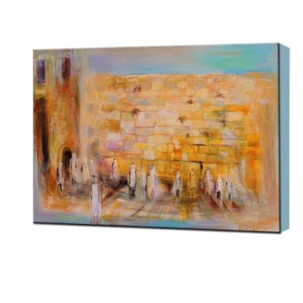 Jewish Art Painting of Elena Kotliarker